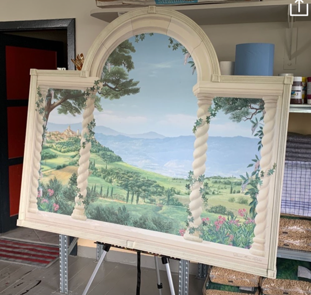 Toskana Gemälde
