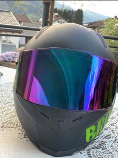 Borken Head KartMotorrad-Helm